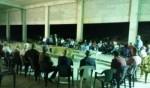 د. حنا سويد يزور المبنى المهدد بالهدم في كابول