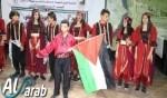 فرقة جذور الأرض من ديرحنا تبدع بمهرجان في أريحا
