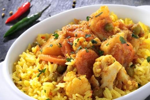 طريقة تحضير الأرز البسمتي بالكاري..صحتين