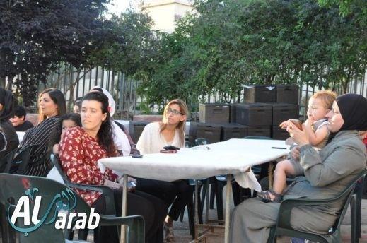 دالية الكرمل: الابتدائية ب تقيم افطارا رمضانيا