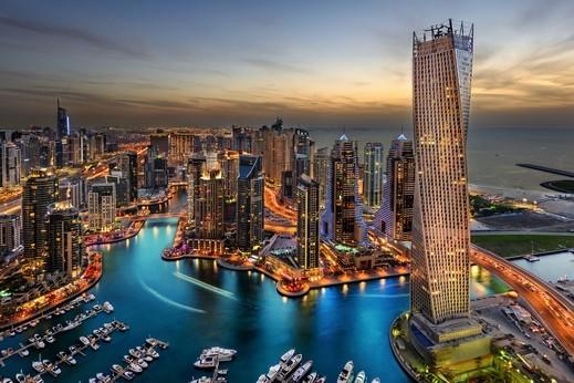 فنادق الإمارات الاولى في الشرق الأوسط