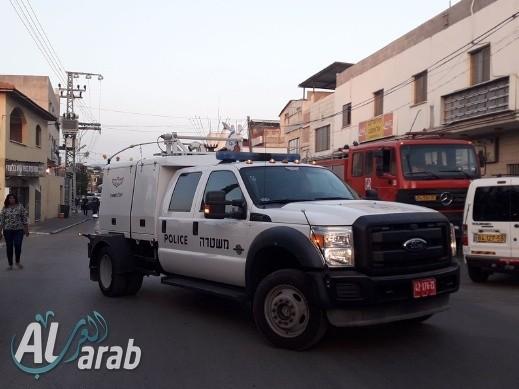 كفرقرع: العثور على قنبلة بساحة منزل