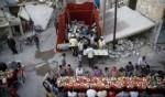 إفطار جماعي بين الأنقاض في دوما
