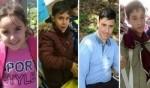 صور باهر تودّع ضحايا حادث الطرق الدامي على شارع