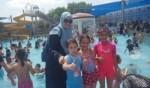 فرحة طلاب مدرسة الحوارنة كفرقرع بالمخيم الصيفي المدرسي