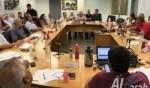 ادارة بلدية الطيبة تجمع المجلس لمناقشة العنف