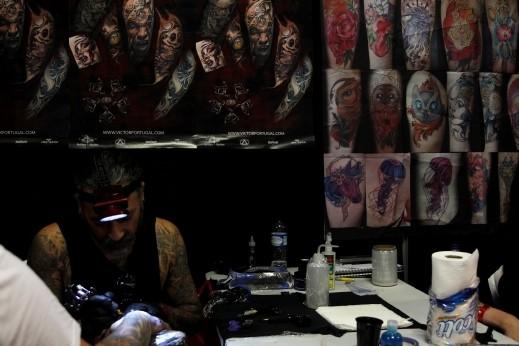 كولومبيا: مناظر مرعبة في مهرجان الوشم