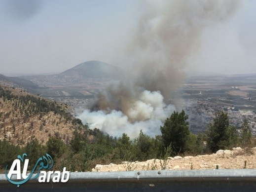 سلطة الإطفاء: إخماد الحريق في اكسال