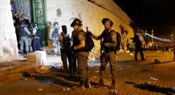 القدس: عشرات المصابين والمعتقلين خلال مواجهات