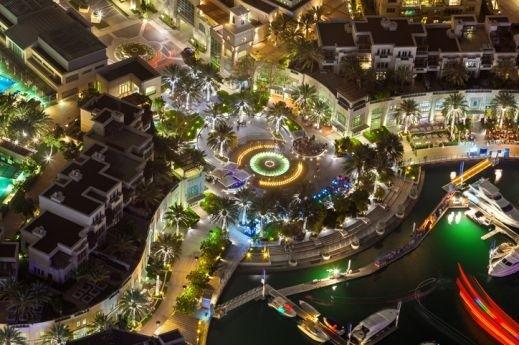 دبي مدينة السحر والجمال والرخاء