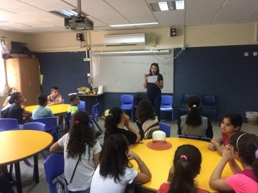 ماراثون دورات للمدارس الابتدائية في يافة الناصرة