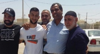قلنسوة: إطلاق سراح الأسير الامني عمر عودة
