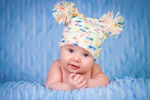 أجمل القبعات الشتوية للأطفال 2018