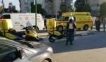 إصابة شاب جراء انقلاب شاحنة في منطقة القدس