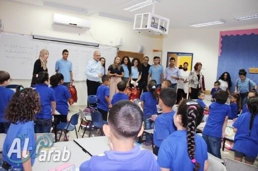مدرسة ابن خلدون الشاملة عرابة تهنئ صفوف الأوائل