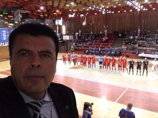 الكسلاوي طلال دراوشة يراقب الحكام في بطولة أوروبا