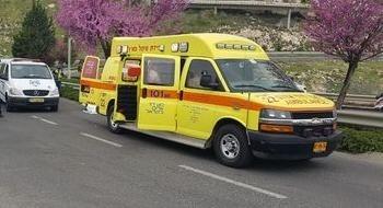 اصابة شخصين في حادث في منطقة حيفا