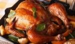 الدجاج المشوي مع الخضروات بتتبيلة العسل