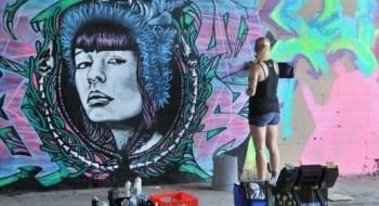 الرسم على الجدران في هيوستن