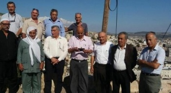 لجنة المبادرة العربية الدرزية تزور طرعان