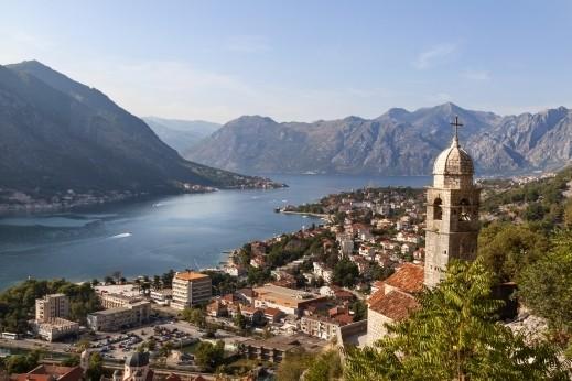 خليج كوتور الرائع في الجبل الأسود