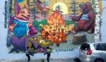 صور للوحات غرافيتي فنية من العالم