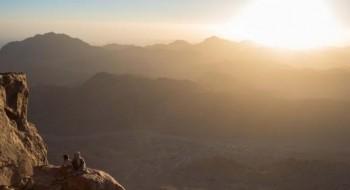 صور مميزة لشروق الشمس في سيناء
