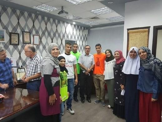 إسماعيل طه رئيس مجلس طلاب الشاملة كفرقاسم