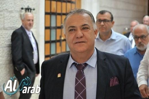 نتيجة بحث الصور عن site:alarab.com رئيس بلدية الناصرة علي سلّام