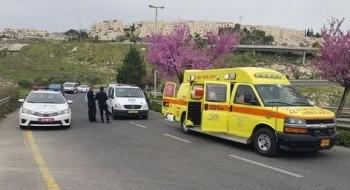 إصابة شابين جراء تعرّضهما للدهس في القدس