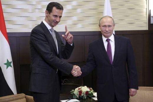 תוצאת תמונה עבור site:alarab.com بشار الأسد بوتين