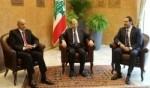 عون يلتقي الرئيسين بري والحريري في قصر بعبدا