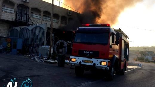 الجش: شبهات حرق سيارة واطلاق نار