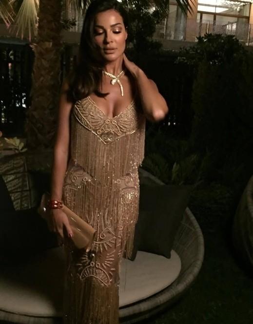 نادين نجيم تسرق الأضواء مع بيلا حديد في دبي