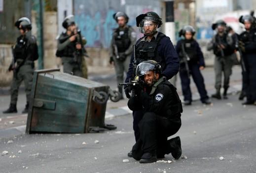 مواجهات مع القوات الاسرائيلية في الضفة