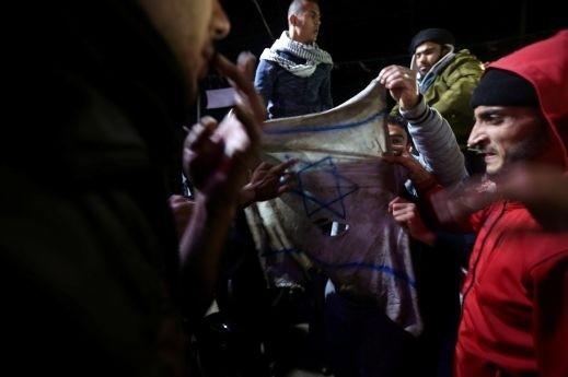احتجاجات في الضفة الغربية بعد خطاب ترامب