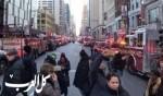 شرطة نيويورك: اعتقال مشتبه بتفجير عبوة ناسفة