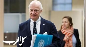 الامم المتحدة تدعو بوتين لإقناع سوريا بالتوصل