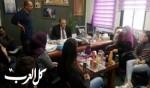 الناصرة: لقاءطلاب وطاقم الجليل بعلي سلام