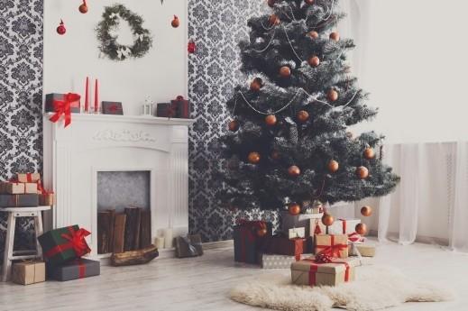 ديكورات ساحرة من وحي عيد الميلاد..صور