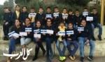 طلاب المجد الناصرة يتألقون بمعرض أزرق