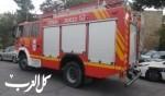 إندلاع حريق داخل منزل في بلدة المغار