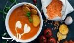 حساء العدس والبندورة..صحتين وهنا