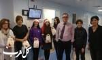 هبوعليم كفرياسيف يعايد أطفال مستشفى نهاريا