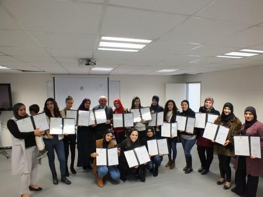 غرناطة تحتفل بخريجها العاملين الاجتماعيين