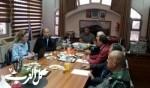 جلسة في مجلس الشبلي أم الغنم مع اللواء حكروش