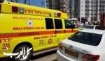 النقب: اصابة طفل رضيع من احدى القرى البدوية