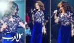 سميرة سعيد بإطلالة ساحرة في حفلها بالقاهرة