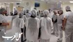 طلاب طبيب الصغير في اللد يزورون مشفى هداسا