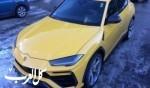 لامبورجيني أوروس باللون الأصفر